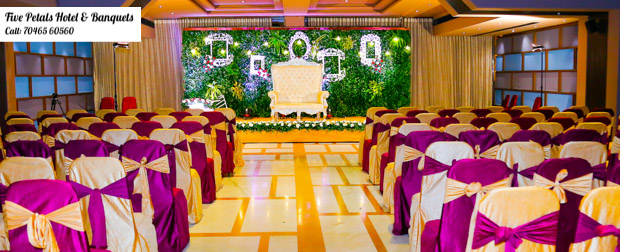 Perfect place to host your weddings Five Petals Hotel!