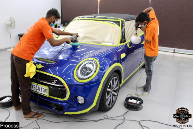 15% OFF on Ceramic Coating for your cars at Creative Motors