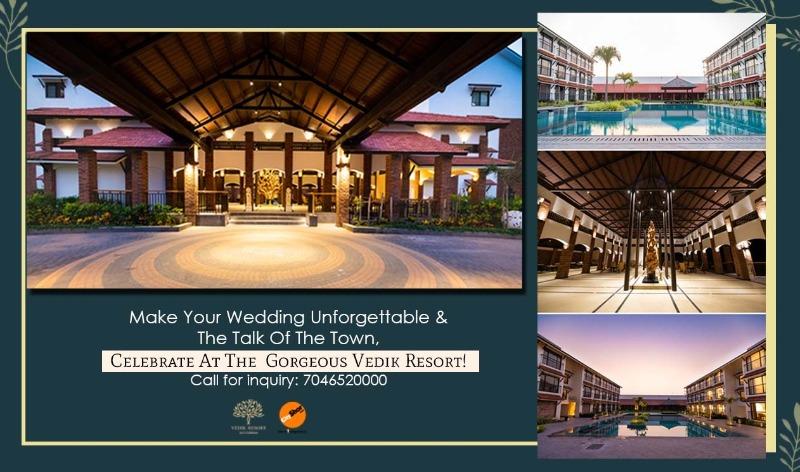 Celebrate At The Gorgeous Vedik Resort!
