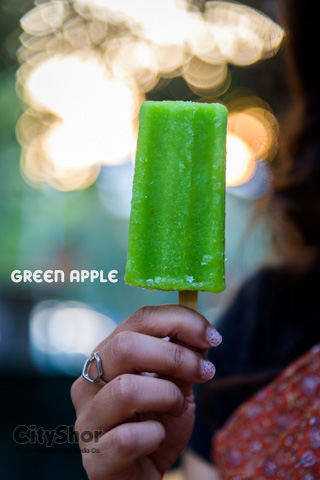 Mouth watering popsicles below Rs. 80/- @ Cafe Denj