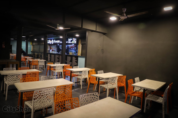Society Food court open till 4 AM during Navratri