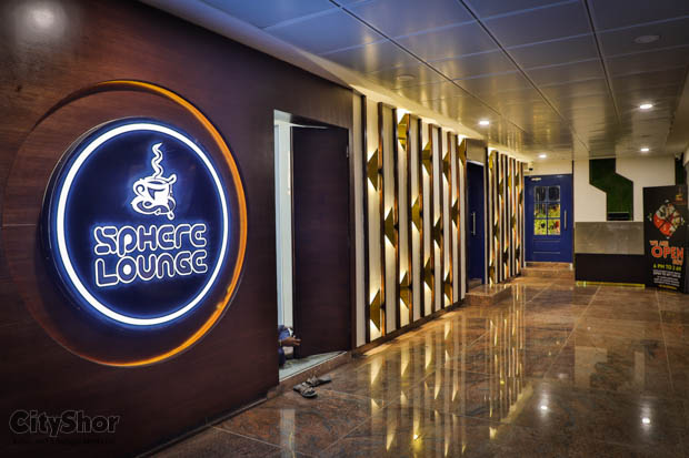 The highest Rooftop cafe of Gujarat- Sphere Lounge