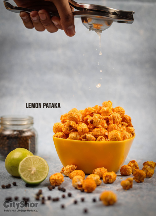 15+ flavours of Popcorns at Planet Popcorn