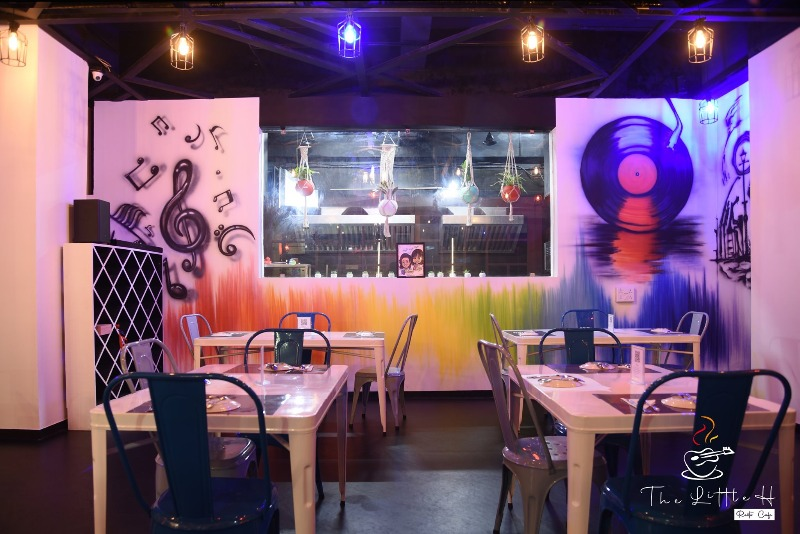 A new music themed resto-cafe - The Little H