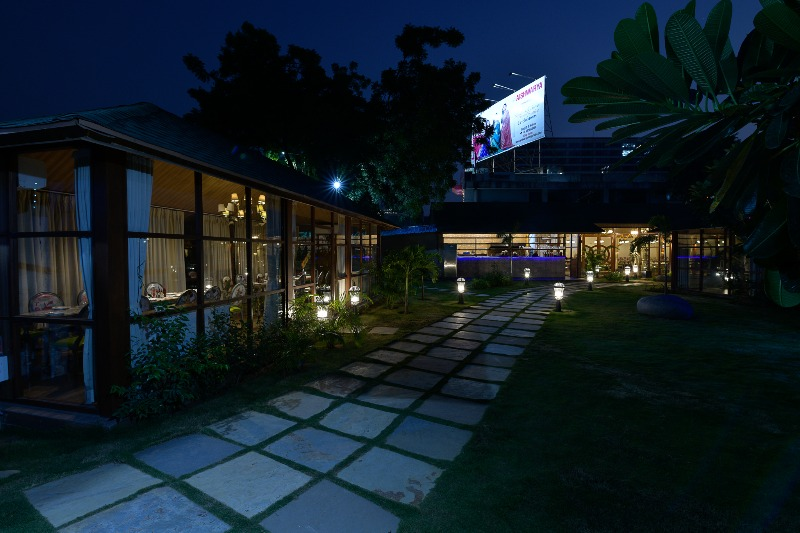 Most Beautiful Private Dining areas on S G Highway- Govindas