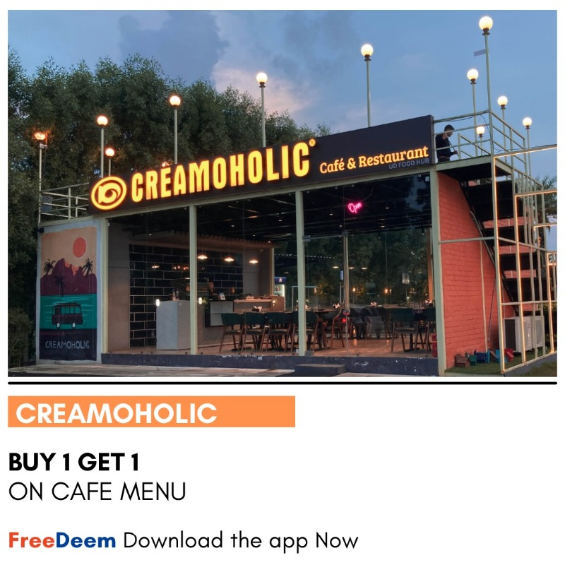 Special discounts at great places- Download FreeDeem App