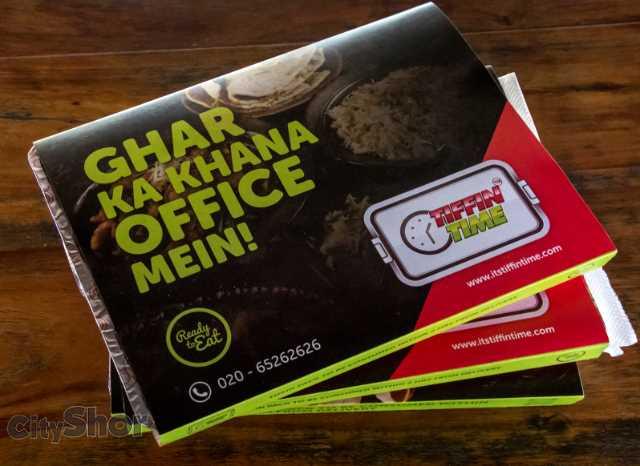 Ghar ka Khana Office Mein Only by Tiffin Time