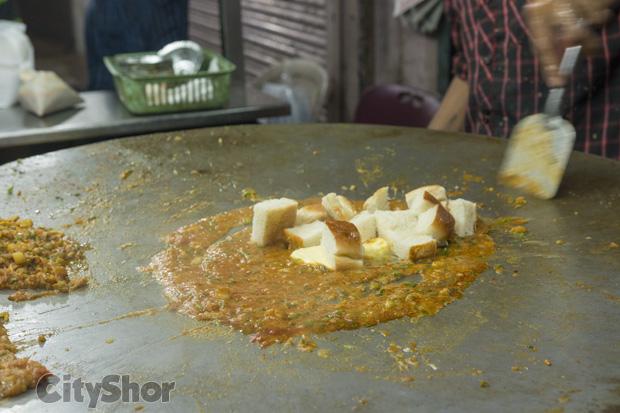 Sev-Bhaji at Shiv Bhaji-Pav Corner