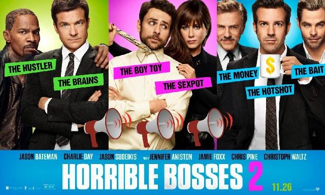 Horrible Bosses 2: Movie Review