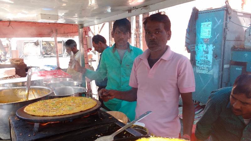 Savour Cheela on the Go, at Culcutti Chat Bhandar
