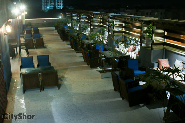 Dine in the Soothing Ambiance of Rooftop at Rustico Cafe
