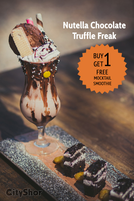 Happy Hours @Truffle. Buy 1, Get 1 Mocktail/Smoothie Free!
