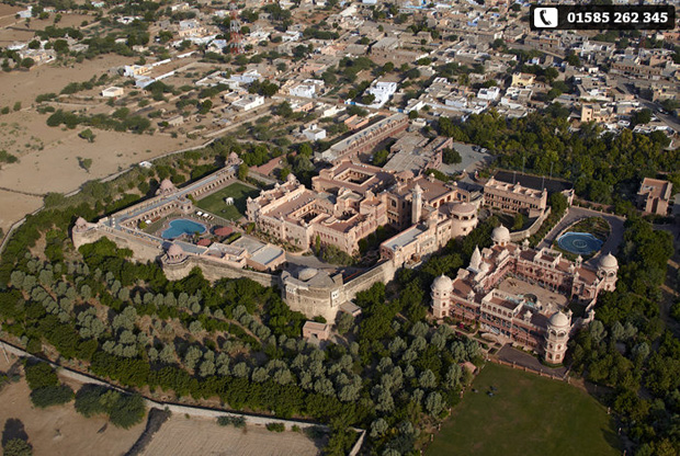 The most romantic honeymoon hotel to stay in Rajasthan!