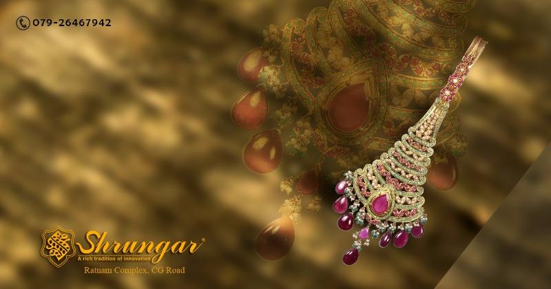 Get dazzling diamond&Gold jewellery from Shrungar Jewellers