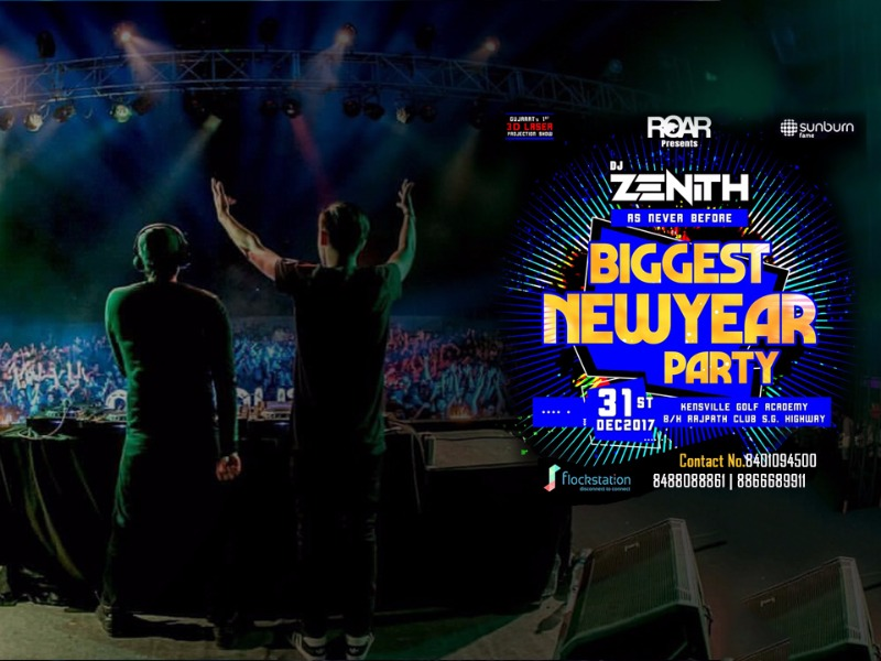 Book your Tickets For Most Happening New Year Party of City