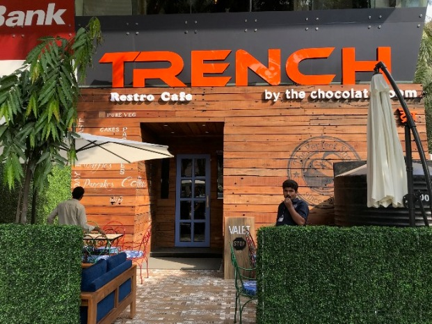 Trench: This All New, Premium Lounge has 50+ Unique Dishes!