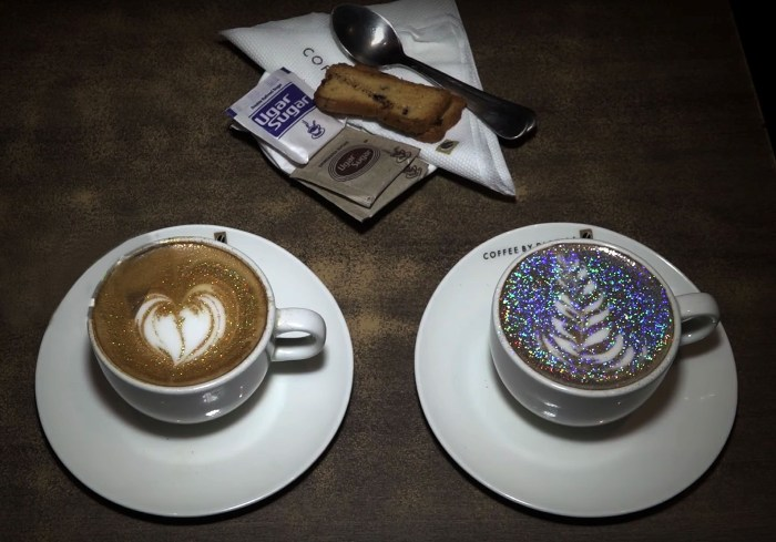 Dazzle Up Your Week With the Glitter Cappuccino at Di Bella!