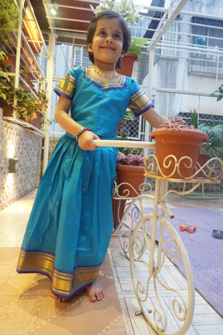Customised Kid's traditional wear by Li'l Love!