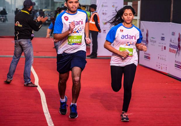 2 days to go Register for Adani Ahmedabad Marathon 2018