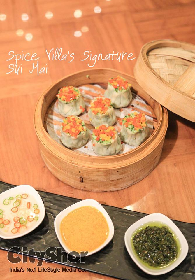 An extravagant meal awaits you at Spice Villa!