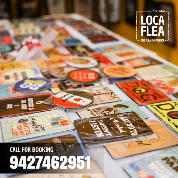 Book your stalls at Happiest Flea market- LocaFlea WinterJam