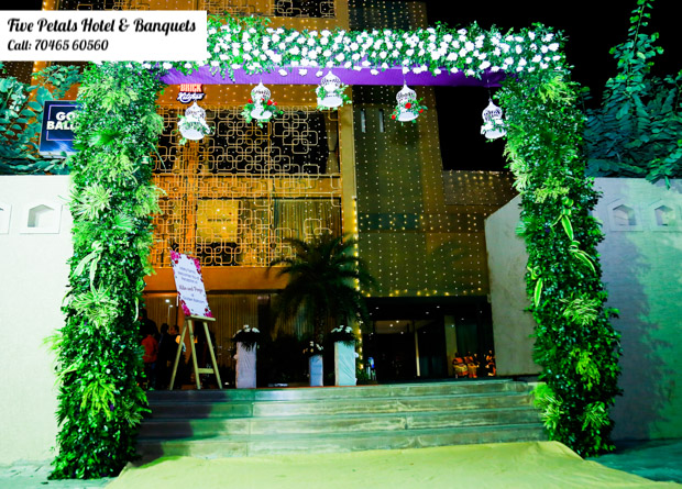 Best place to host your Weddings- FivePetals Hotel & Banquet