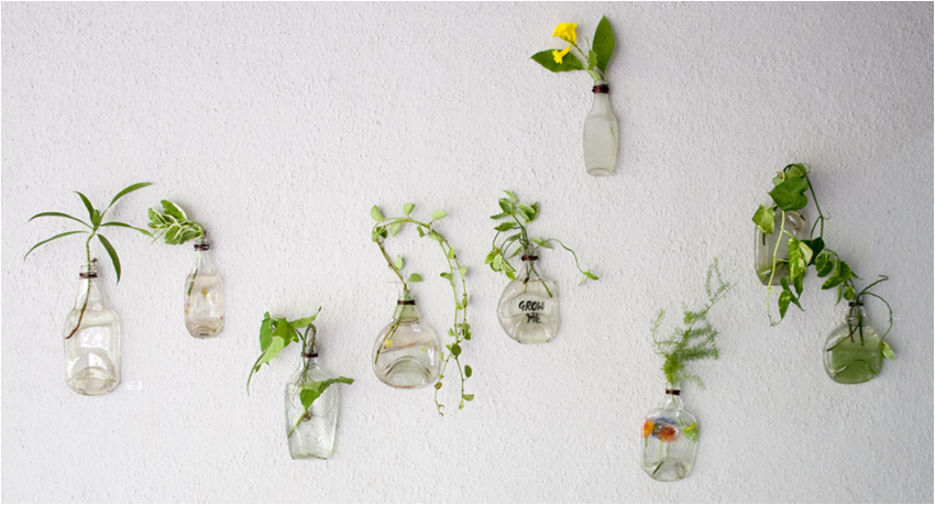 Out of box and out of bottle - upcycled knick knacks at Levart