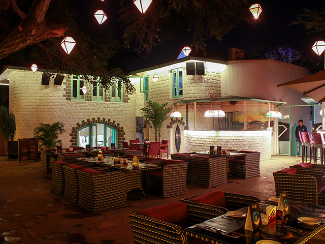 F Beach House Pune Entry