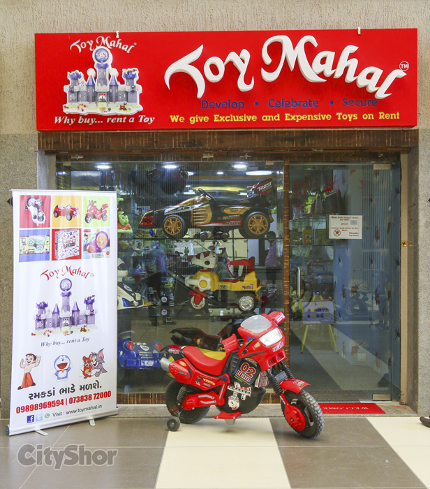 Rent a toy from Toy Mahal!