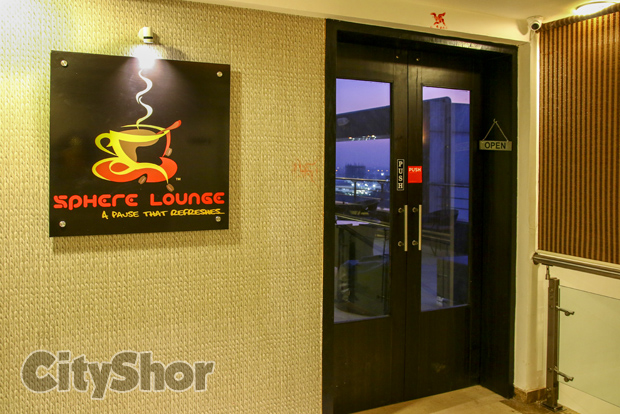 Sphere Lounge - Roof Top Cafe!