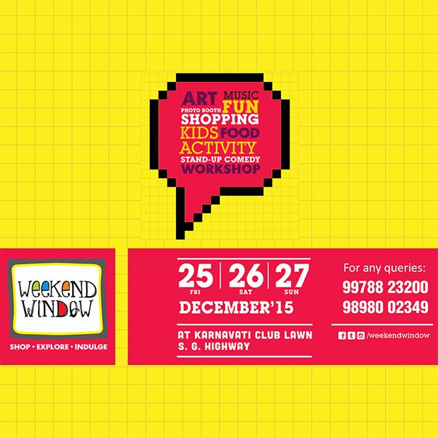 WEEKEND WINDOW kickstarts this weekend!