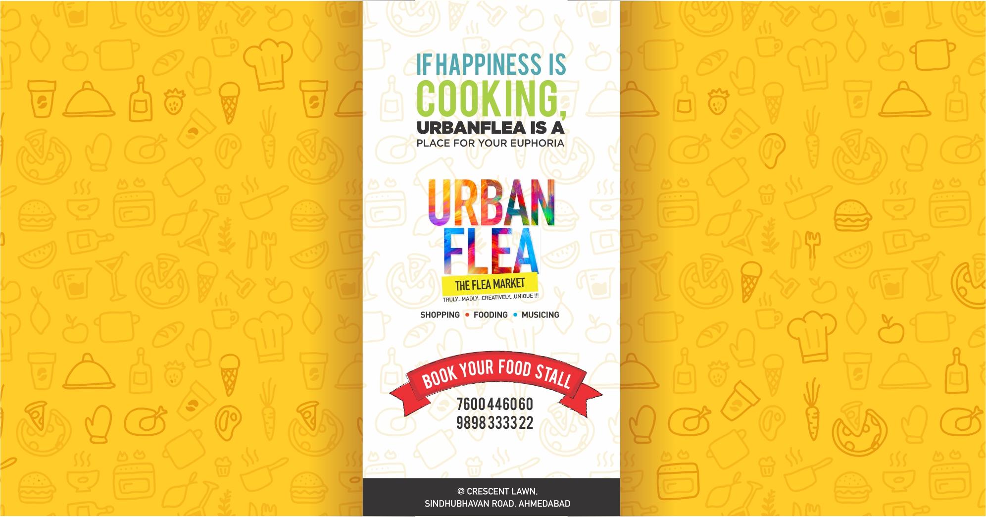 URBAN FLEA starts tomorrow!