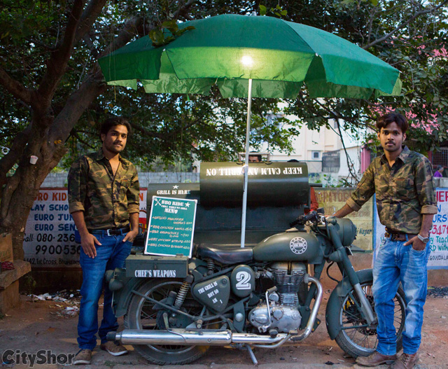 INDIA'S FIRST BBQ FOOD BIKE right here in Bangalore