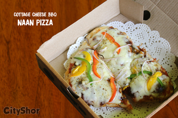 Naan Pizza - 1st of its kind in Ahmedabad only @ WRAPICO