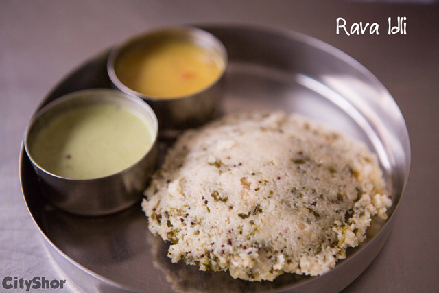 The Perfect Breakfast in just Rs 40 at SOUTH TIFFINS