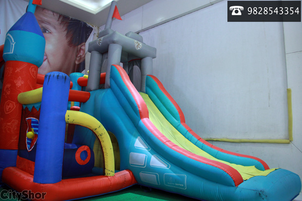 First time In WTP- Kids play area!