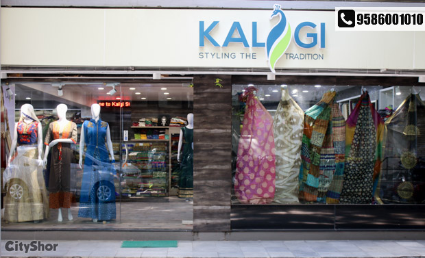 Look your festive best with stunning Indian attire by KALGI!