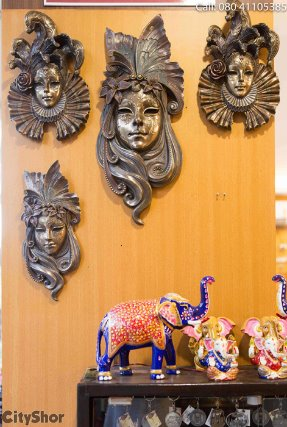 artefacts effigies and tribal decor at prachin art crafts