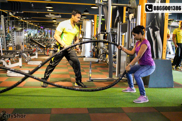 Buy one gym membership and get second at 50% off @ PARV'S
