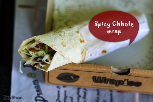 Hot, delicious & pocket friendly wraps for winter @ WRAPICO!