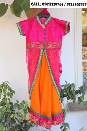 Pamper your kids with ethnic charm of traditional clothing!
