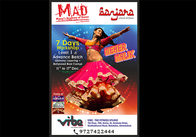 Learn Belly Dancing from IGT & Just Dance Fame Meher Malik!