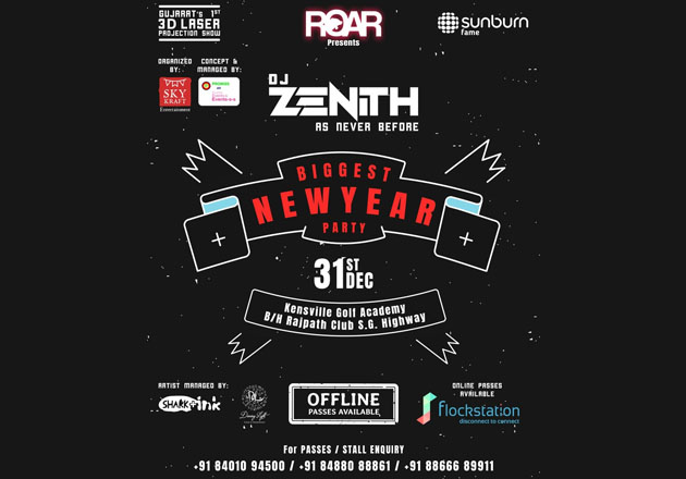 Final Few Left! Book your passes to biggest new year party!