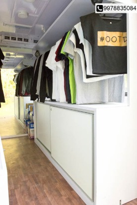 India's 1st Moving Boutique Van-The Tee Shop, now in City!