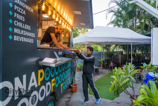 Have you been to the Poona Food Truck @ SB road corner?
