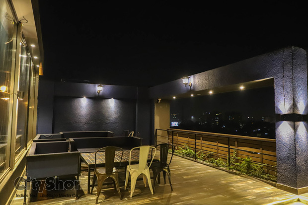 Under the Sky New YEar party at Makeba the rooftop cafe