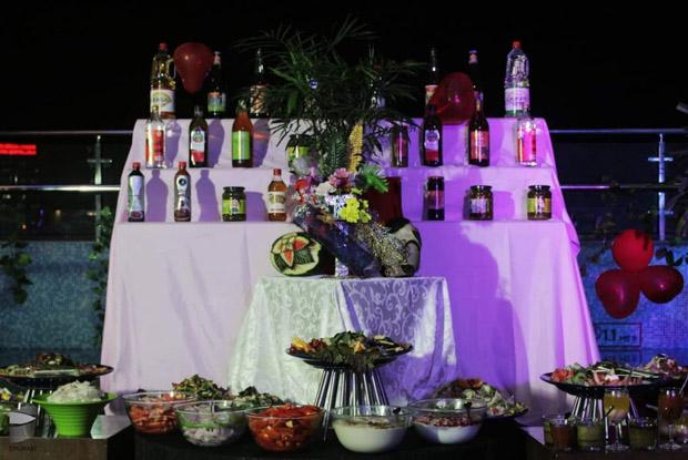 Casino themed New Year Party at Aloft Hotel