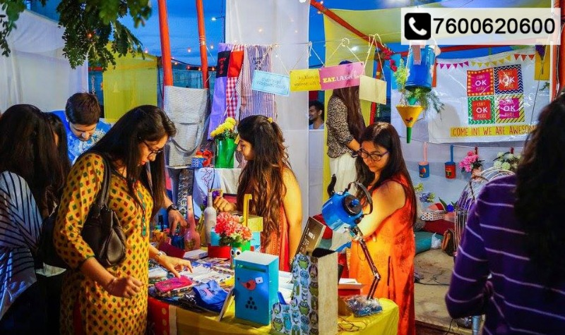 The Most Vibrant Flea Market of the city, AAMDAVAD FLEA