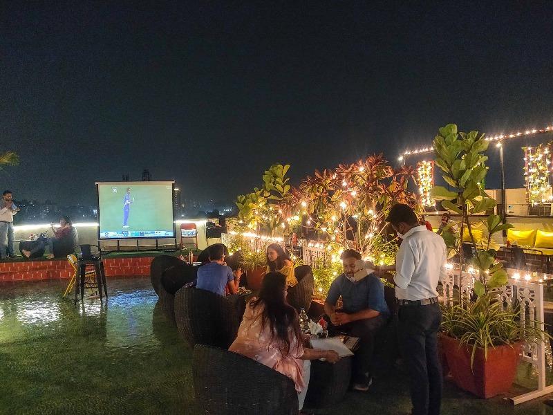Celebrate Diwali at Verandah rooftop resto cafe