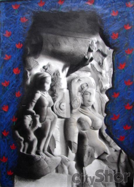 Charcoal Paintings Ahmedabad